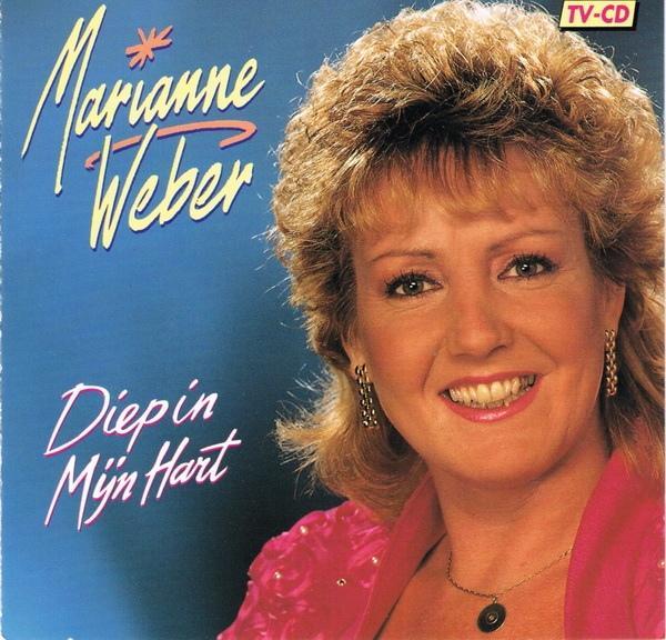 MARIANNE WEBER - Diep In Mijn Hart - CD