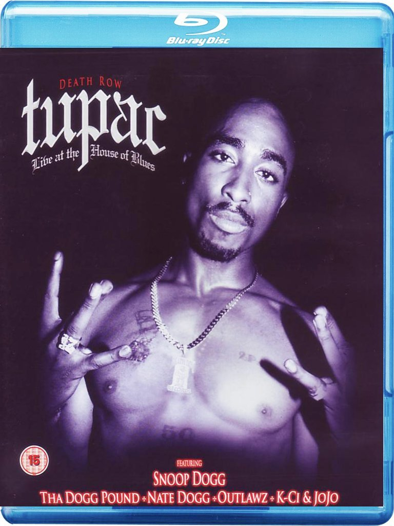 TUPAC - Live At The House Of Blues [Blu-ray] [2010] - Blu-ray Disc