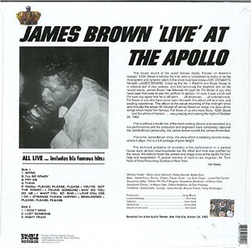 James Brown Live At The Apollo [VINYL]