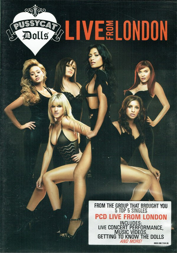 THE PUSSYCAT DOLLS - Live From London - DVD