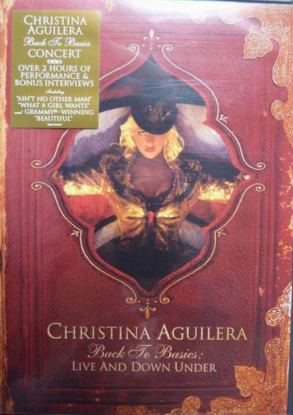CHRISTINA AGUILERA - Back To Basics: Live And Down Under - DVD