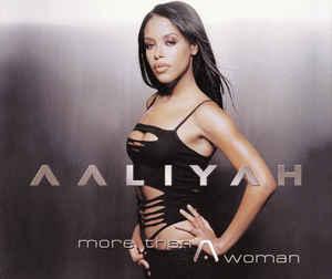 AALIYAH - More Than A Woman - CD single