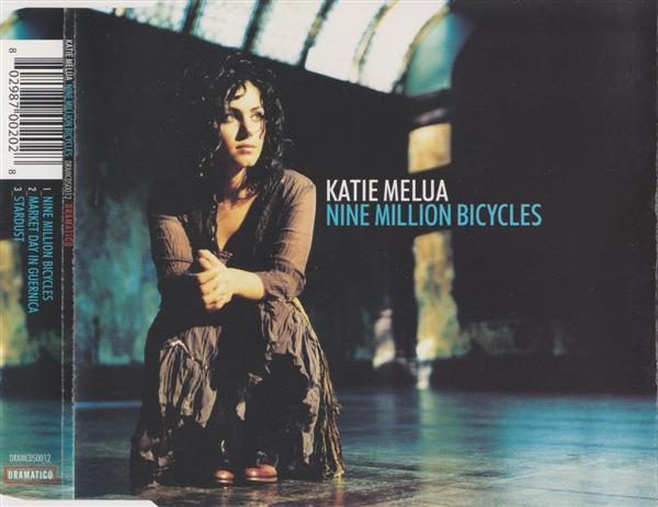 KATIE MELUA - Nine Million Bicycles - CD single