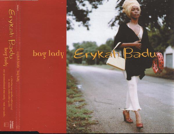 ERYKAH BADU - Bag Lady (promo) - CD single