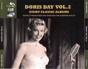 DORIS DAY - Doris Day Vol.2 Eight Classic Albums - CD