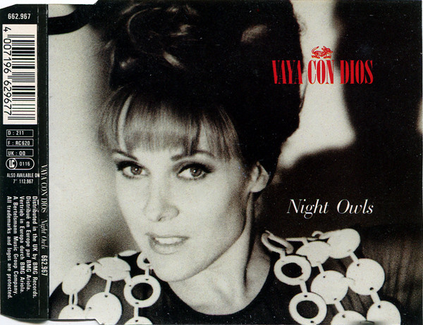 VAYA CON DIOS - Night Owls - CD single