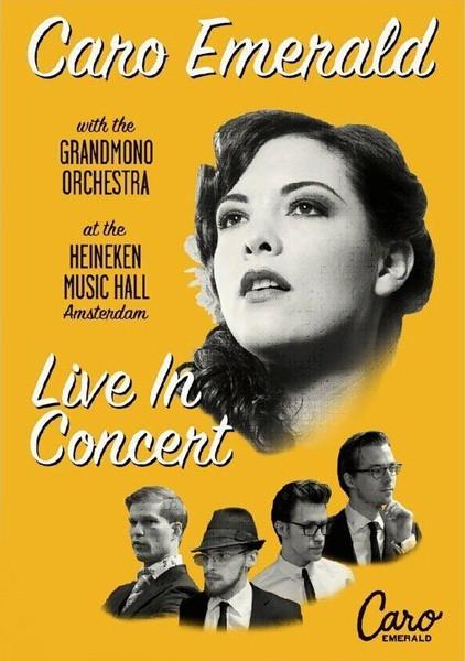 CARO EMERALD - Live In Concert At The Heineken Music Hall - DVD