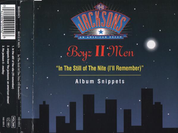 BOYZ II MEN - In The Still Of The Nite (I`ll Remember) - CD single