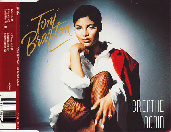 TONI BRAXTON - Breathe Again - CD single