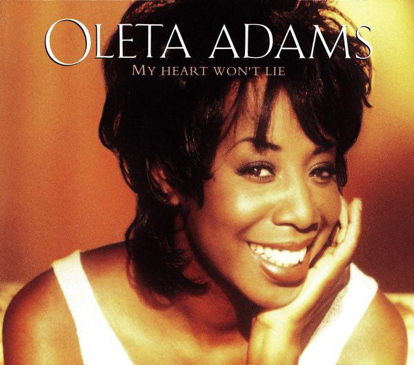 OLETA ADAMS - My Heart Won`t Lie - CD single