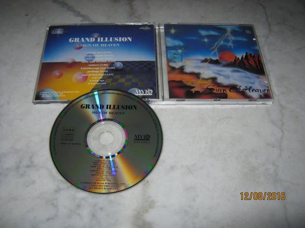 GRAND ILLUSION - Sign Of Illusion - CD