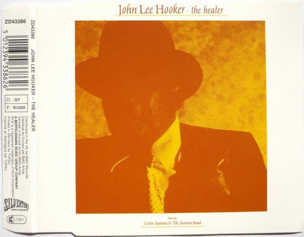 JOHN LEE HOOKER - The Healer - CD single
