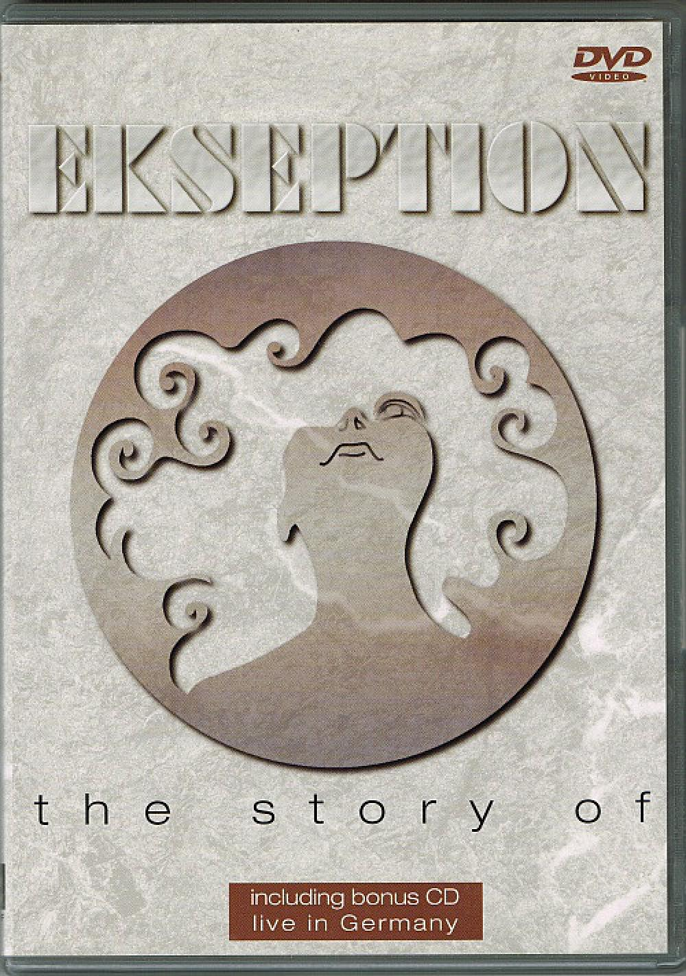 EKSEPTION - The Story Of - DVD