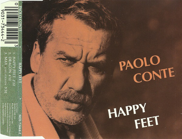 PAOLO CONTE - Happy Feet - CD single