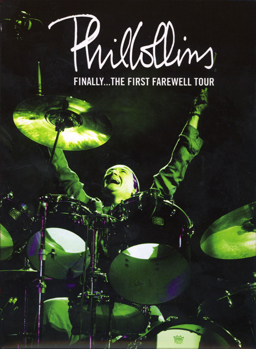 PHIL COLLINS - Finally... The First Farewell Tour - DVD