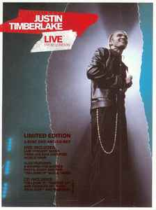 JUSTIN TIMBERLAKE - Live From London - DVD