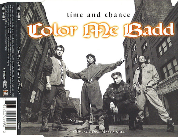 COLOR ME BADD - Time And Chance - CD single