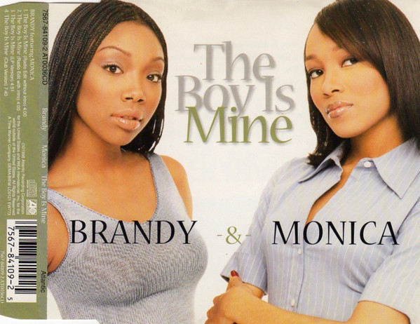 BRANDY - The Boy Is Mine - CD single