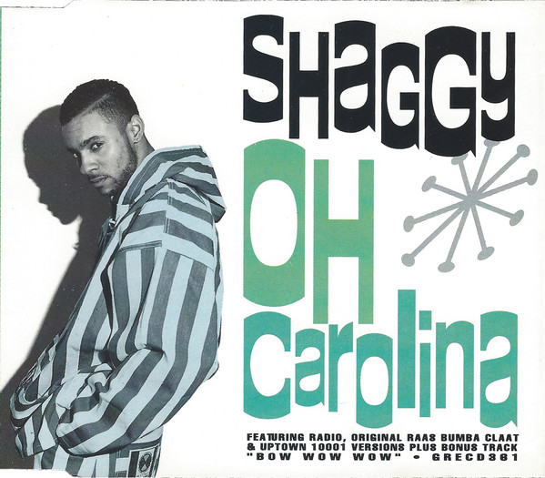 SHAGGY - Oh Carolina - CD single