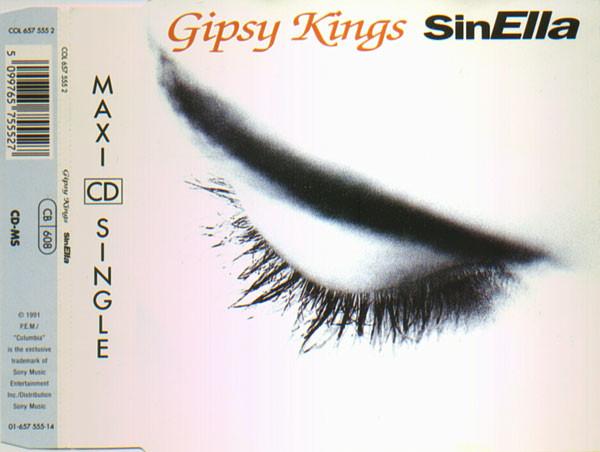 GIPSY KINGS - Sin Ella - CD single