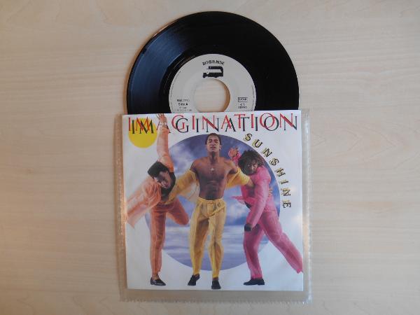 IMAGINATION - Sunshine - 45T (SP 2 titres)