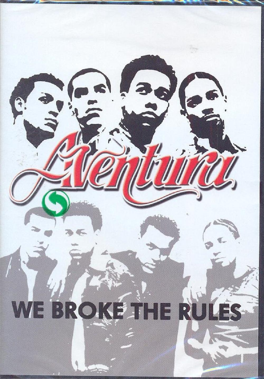 AVENTURA - We Broke The Rules - DVD