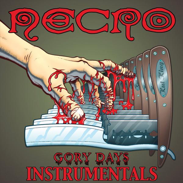 NECRO - Gory Days Instrumentals - DVD
