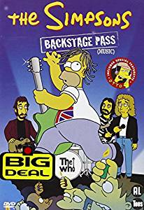 THE SIMPSONS - backstage pass - DVD