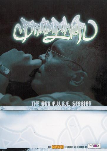 BRAINPOWER - The Box P.U.R.E. Session - DVD