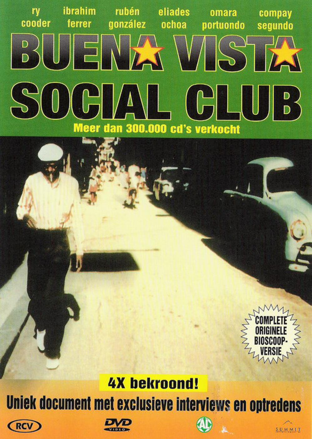 BUENA VISTA SOCIAL CLUB - Buena Vista Social Club - DVD