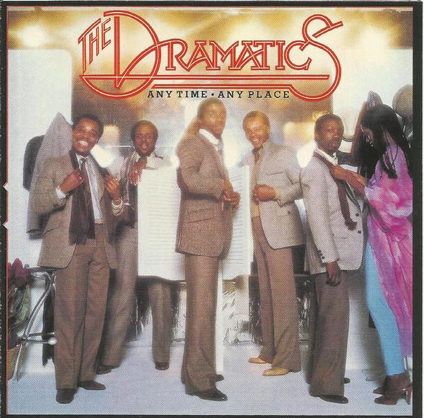 THE DRAMATICS - Any Time Any Place - CD