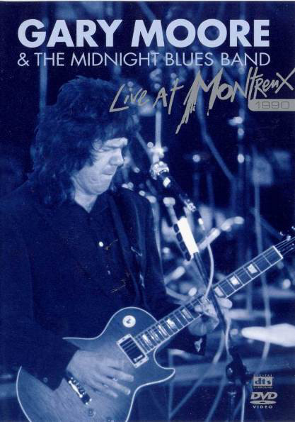 GARY MOORE - Live At Montreux 1990 - DVD