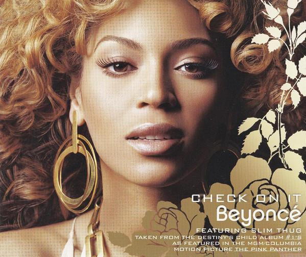 BEYONCE - Check On It - CD single