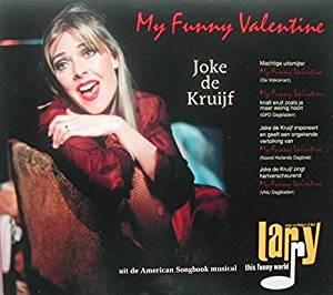 JOKE DE KRUIJF - My Funny Valentine-Musical Larry - CD single