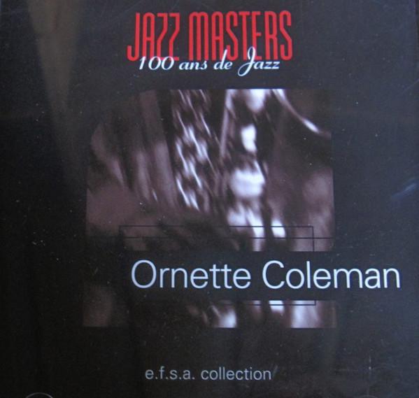ORNETTE COLEMAN - Jazz Masters (100 Ans De Jazz) - CD