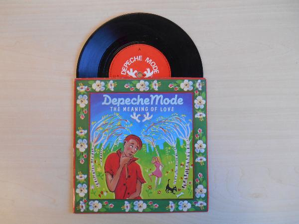 DEPECHE MODE - The Meaning Of Love - 45T (SP 2 titres)