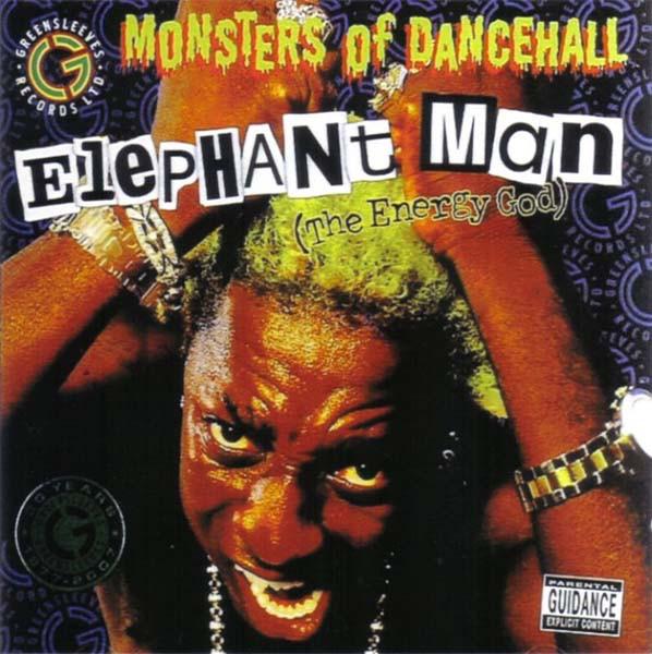 ELEPHANT MAN (THE ENERGY GOD) - Monsters Of Dancehall - CD