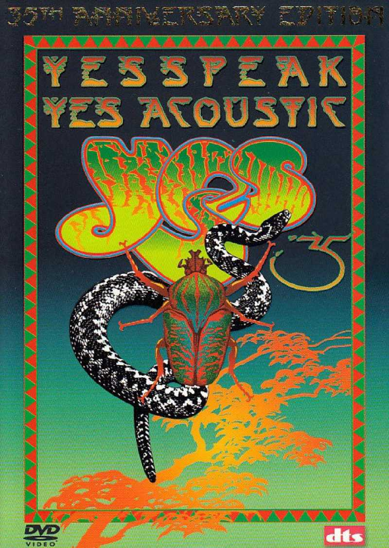 YES - Yesspeak Yes Acoustic - DVD