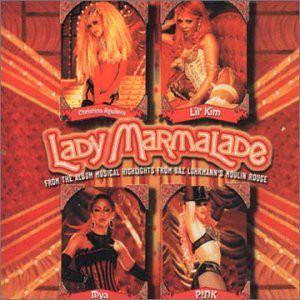 CHRISTINA AGUILERA - Lady Marmalade - CD single