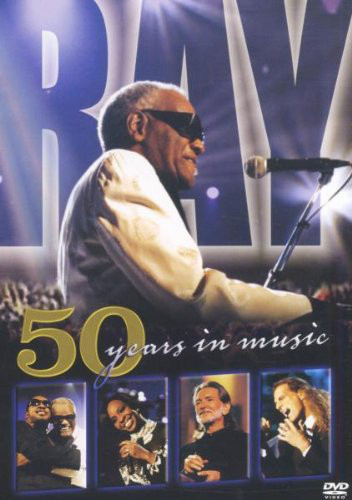 RAY CHARLES - 50 Years In Music - DVD