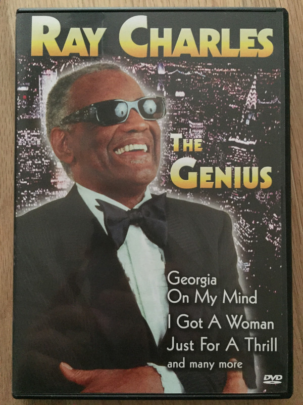 RAY CHARLES - The Genius - DVD
