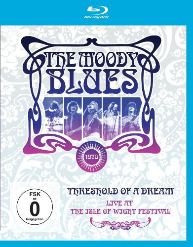 THE MOODY BLUES - Live At The Isle Of Wight Festival Threshold Of A Dream - Blu-ray Disc