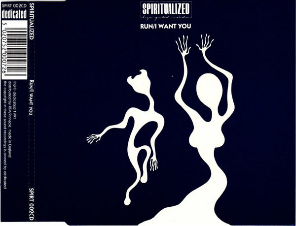 SPIRITUALIZED - Run / I Want You - CD single