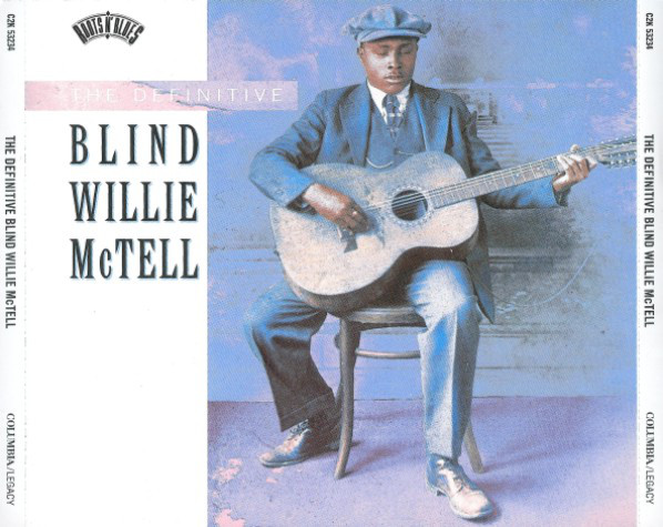 BLIND WILLIE MCTELL - The Definitive Blind Willie McTell - CD