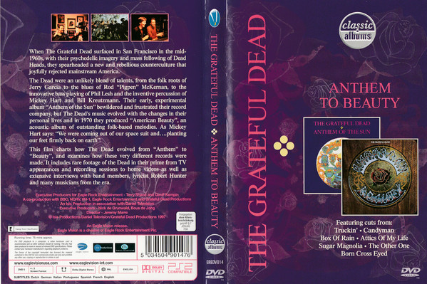 GRATEFUL DEAD - Anthem To Beauty - DVD