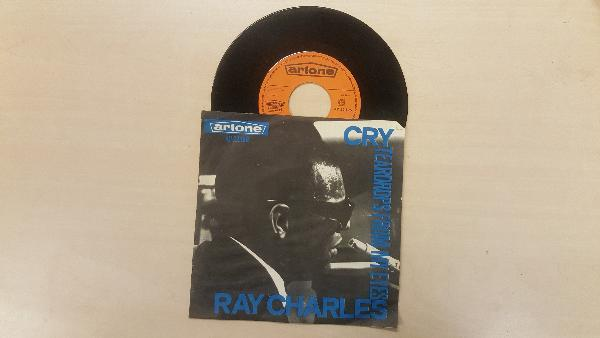 RAY CHARLES - Cry - 7inch (SP)