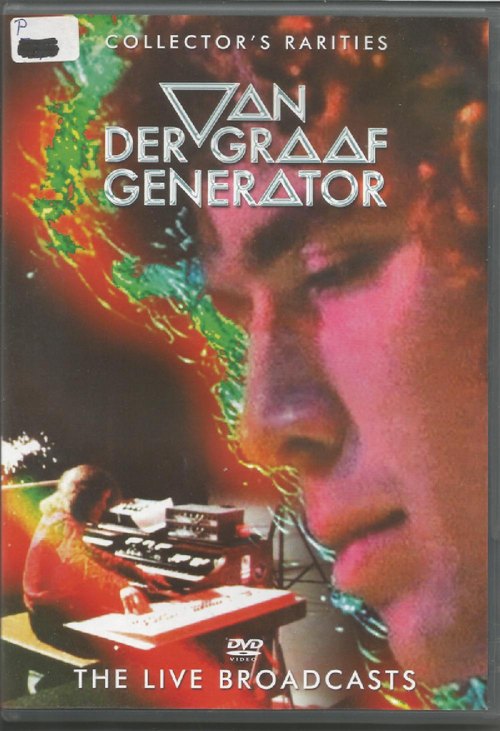 VAN DER GRAAF GENERATOR - The Live Broadcasts - DVD