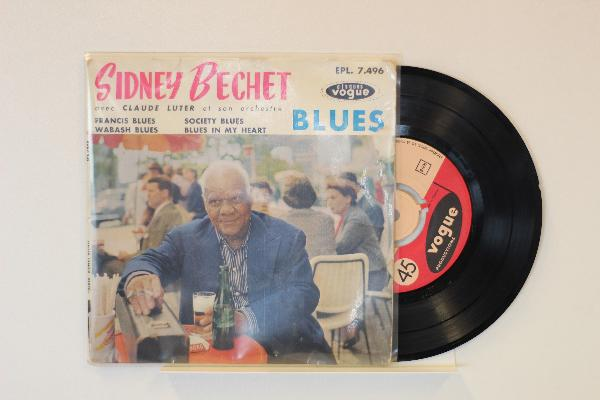 SIDNEY BECHET - Blues - 45T (SP 2 titres)