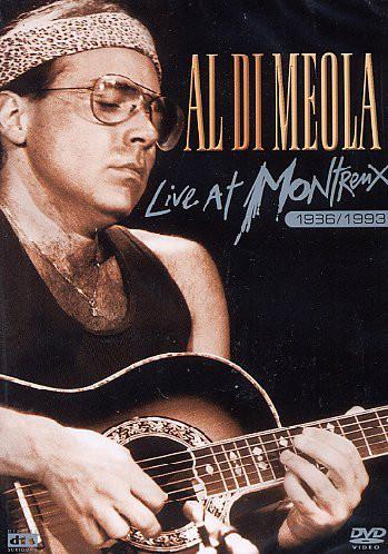 AL DI MEOLA - Live At Montreux 1986/1993 - DVD
