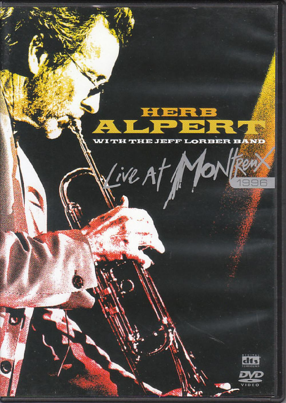 HERB ALPERT - Live At Montreux 1996 - DVD